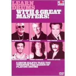 Learn Drums with 6 Great Masters [DVD]