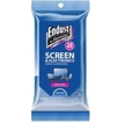 Endust For Electronics - Screen And Electronics Cleaning Wipes (20-pack)