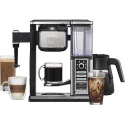 Ninja - Coffee Bar 10-Cup Coffee Maker - Black/Stainless