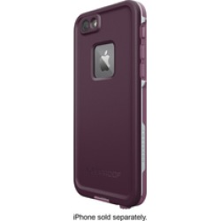 Lifeproof - Fre Protective Waterproof Case For Apple Iphone 6 And 6s - Crushed Purple