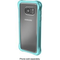 Ballistic - Tungsten Ultra Slim Hard Shell For Samsung Galaxy S7 - Clear / Teal