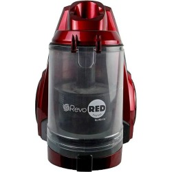 Atrix - Bagless Canister Vacuum - Red