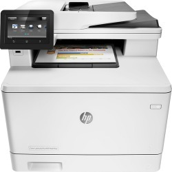 HP - LaserJet Pro MFP m477fnw Color All-In-One Printer - White found on Bargain Bro India from Best Buy for $529.99