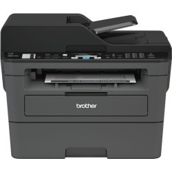 Brother - MFC-L2710DW Wireless Black-and-White All-in-One Printer - Black found on Bargain Bro India from Best Buy for $129.99