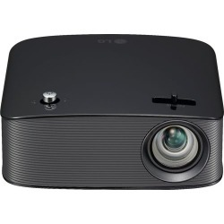LG - PH150B 720p Wireless LCOS Projector - Black