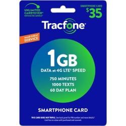 TracFone Wireless - $35 Smartphone Card [Digital]
