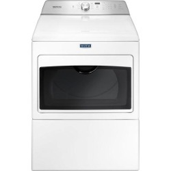 Maytag - 7.4 Cu. Ft. 9-Cycle Electric Dryer - White