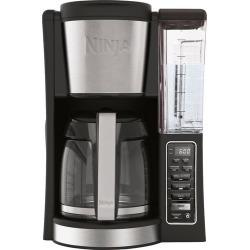 Ninja - 12-Cup Coffee Maker - Black/Stainless Steel
