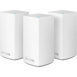 Linksys - Velop Dual-Band Mesh Wi-Fi System (3 Pack) - White