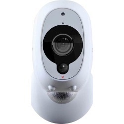Swann - Smart Indoor/Outdoor 1080p Full HD Wi-Fi Wire-Free Security Camera - White found on Bargain Bro India from Best Buy for $119.99