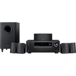 Onkyo - HT 5.1-Ch. 4K Home Theater System - Black