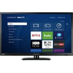 """Insignia™ - 24"""" Class - LED - 720p - Smart - HDTV Roku TV"""
