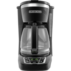 Black & Decker - 12-Cup* Coffee Maker - Black