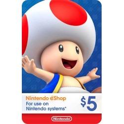 Nintendo - Nintendo eShop $5 Gift Card [Digital]