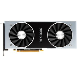 NVIDIA - GeForce RTX 2080 Founders Edition 8GB GDDR6 PCI Express 3.0 Graphics Card