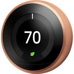 Nest - Learning Thermostat - 3rd Generation - Copper found on Bargain Bro India from Best Buy for $249.99