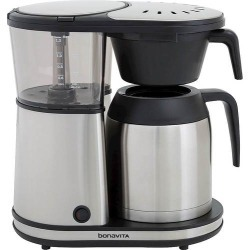 Bonavita - 8-Cup Coffee Maker - Stainless Steel/Black
