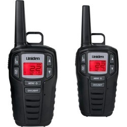 Uniden - GMRS 23-Mile, 22-Channel GMRS 2-Way Radios (Pair) - Black found on Bargain Bro India from Best Buy for $59.99