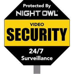 Night Owl - Reflective Outdoor Yard Stake Sign found on Bargain Bro India from Best Buy for $14.99