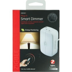 GE - Plug-In Smart Dimmer Light Switch - White found on Bargain Bro India from Best Buy for $51.99