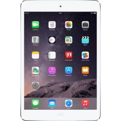 Apple - Refurbished iPad mini - Wi-Fi + Cellular - 16GB - (AT & T) - White/Silver