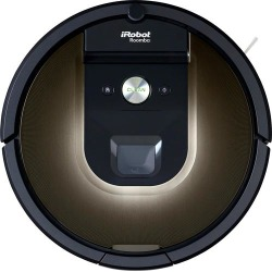 iRobot - Roomba 980 App-Controlled Self-Charging Robot Vacuum - Black