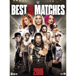 WWE: Best Pay-Per-View Matches 2016 [3 Discs] [DVD] [2016] found on Bargain Bro India from Best Buy for $19.99