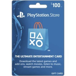 Sony - PlayStation Network $100 Gift Card