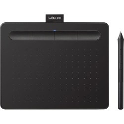 Wacom - Intuos Drawing Tablet (Small) with 3 Bonus Software included - Black