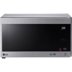 LG - NeoChef 0.9 Cu. Ft. Compact Microwave - Stainless steel