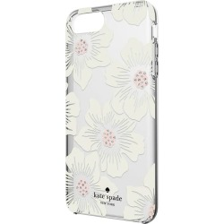 7354f117f kate spade new york - Protective Hardshell Case for Apple® iPhone® 8 Plus -  Cream with Stones/Hollyhock Floral Clear