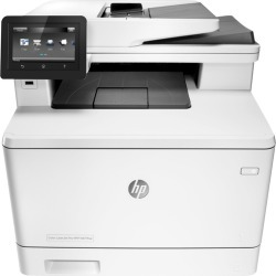HP - Refurbished LaserJet Pro MFP m477fnw Color All-In-One Printer - White found on Bargain Bro India from Best Buy for $349.99