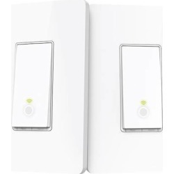 TP-Link - Kasa Wi-Fi Smart Light Switch 3-Way Kit - White found on Bargain Bro India from Best Buy for $54.99