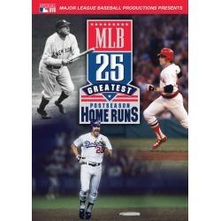 MLB: 25 Greatest Postseason Home Runs [DVD] [2013] found on Bargain Bro India from Best Buy for $7.99