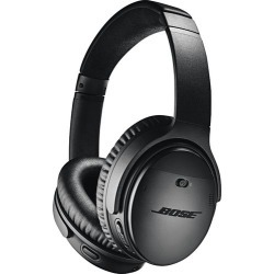 Bose® - QuietComfort 35 Wireless Noise Cancelling Headphones II - Black