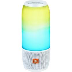 JBL - Pulse 3 Portable Bluetooth Speaker - White