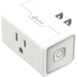 TP-Link - Kasa Smart Wi-Fi Plug Mini - White found on Bargain Bro India from Best Buy for $17.99