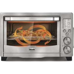 Bella - Pro Series 6-Slice Toaster Oven Air Fryer - Stainless Steel