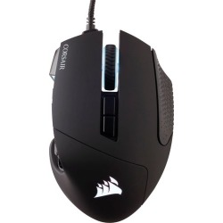 CORSAIR - Scimitar Pro Wired RGB MMO Gaming Optical Mouse - Black