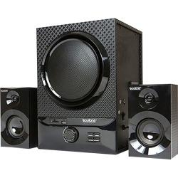 Boytone - 2500W 2.1-Ch. Home Theater System - Black