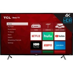 "TCL - 55"" Class - LED - 4 Series - 2160p - Smart - 4K UHD TV with HDR Roku TV"
