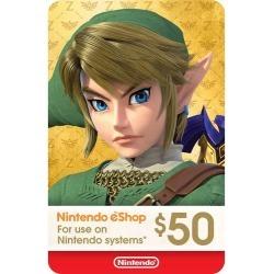 Nintendo - Nintendo eShop $50 Gift Card [Digital]