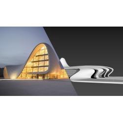 0 to 100 Step By Step 3ds Max Modeling Heydar Aliyev Center