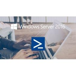 Windows Server 2016 (SERVER CORE / POWERSHELL)