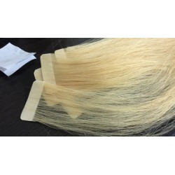 How to make Tape Hair Extension, easy and quick tape hairs