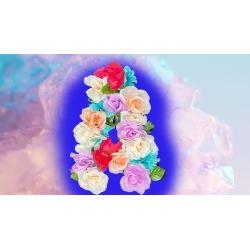 Flower/Floral Letter Step by step