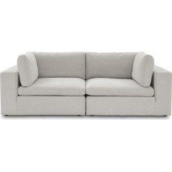 Noah 2 Seater Sofa, Shell Grey found on Bargain Bro Philippines from Castlery for $1390.71