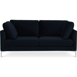 Adams 2 Seater Sofa, Midnight Blue Velvet (Silver Leg) found on Bargain Bro Philippines from Castlery for $687.82