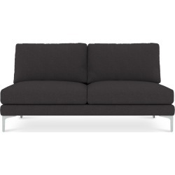 Adams Armless 2 Seater Sofa Customized, Slate Grey (Silver Leg) found on Bargain Bro Philippines from Castlery for $616.10