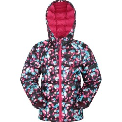 Seasons Kids Water Resistant Padded Jacket - Pink found on Bargain Bro UK from Mountain Warehouse